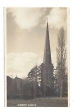 Vintage RP postcard Ledbury Church, Herefordshire. pmk Ledbury 1932