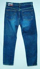 COPPER Button Heavy Cotton CLASSIC RISE Tapered Leg BONGO Jeans! 7/8