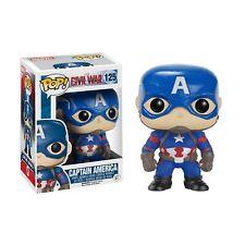 Funko CAPTAIN AMERICA #125 POP! Vinyl Figure Marvel Captain America: Civil War