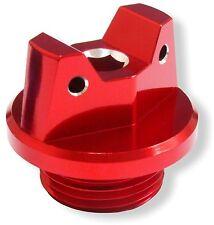 MotoSculpt Oil Fill Cap Plug for Suzuki RMZ250 RMZ450 RMX450Z LTR450 - RED