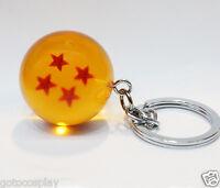 Anime Dragonball Dragon Ball Z keychain Crystal Ball NO.4 STAR BALL 3.2cm