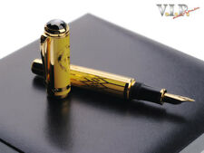 "MONTBLANC MAX REINHARDT 2006 LIMITED EDITION ""30"" FOUNTAIN PEN STYLO PLUME GOLD"