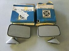 NEW PAIR OF TEX DOOR MIRRORS MGB MIDGET MINI TRIUMPH AUSTIN MORRIS ROVER