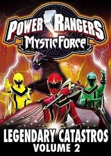 Power Rangers Mystic Force: Legendary Catastros (Vol. 2) (DVD, 2006) New SEALED