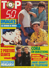 TOP 50 021 (28/7/86) MADONNA WHAM IMAGES INDOCHINE