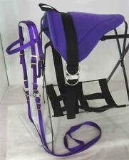 Miniature Horse / Sm Pony Bareback Saddle Pad Set W/Stirrups Royal Purple