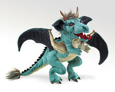 Sky Dragon Hand Puppet with Moveable Mouth, Forelegs & Wings, Folkmanis 2958