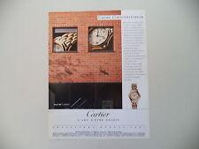 advertising Pubblicità 1990 CARTIER COUGAR