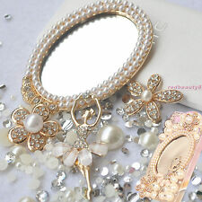 DIY Bling Phone Case DECO DEN KIT, 3D Gem Magic Mirror Ballet Girl Pear Flowers