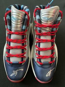 ALLEN IVERSON  BRAND NEW IN THE BOX AUTOGRAPHED REEBOK QUESTION SHOES