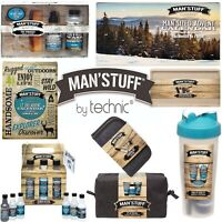 Technic Man'Stuff Men Toiletry Christmas Gift Sets Bath Body Box Bodywash Advent