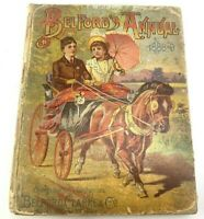 1888-89 Belford's Annual Illustrated Victorian Children's book for Christmastime