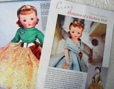 16p History Article -  Evolution of Madame Alexander Cissy Fashion Doll