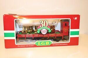 LGB 41124 G Scale 30th BIRTHDAY GNOMY GONDOLA CAR LIMITED EDITION 1998