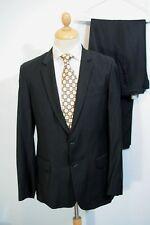Wool Blend Single Long Suits & Tailoring for Men 32L