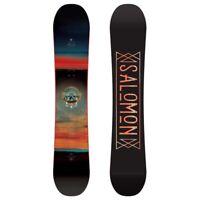 Salomon Pulse Herren Snowboard Freestyle 145 cm Schwarz Rot