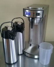 Gastro Kaffeemaschine inkl. 2. Pumpkanne + Meßbecher