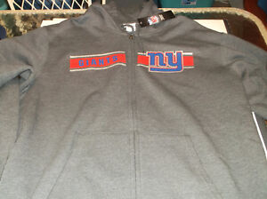 New York Giants NFL  Team Apparel Touchback Hoodie by Majestic XL