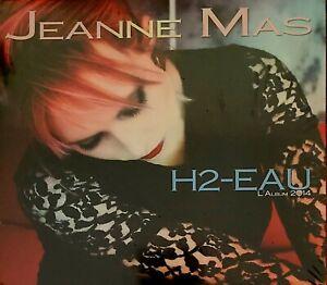JEANNE MAS - H2-EAU - CD DIGISLEEVE NEUF ET SCELLÉ