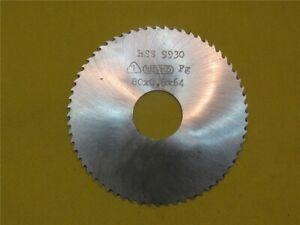 Aufn 100 x 1,2 x 64 DDR Metall Kreissägeblatt Werkö HSS Ø 22 Scheibenfräser