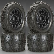 "Pro-Line 1193-13 Mounted Shockwave 3.8"" Tires/Wheels (4) Summit E-Revo"