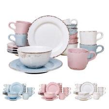 Geschirr- & Tafelservice-Komplettsets aus Keramik-Sets in Größe 18