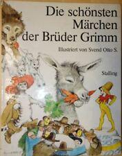 MÄRCHENBUCH Brüder Grimm Die schönsten Märchen SVEN Otto S. - STALLING