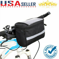 Portable Cycling Handlebar Bar Bag Quick Release Front Basket Bike Bicycle