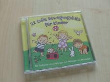 CD 22 tolle Bewegungslieder für Kinder Lieder zum Mitmachen