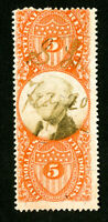 US Stamps # R148 Fresh Used Scott Value $50.00