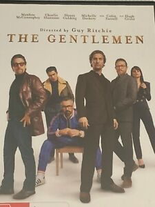 The Gentlemen Matthew McConaughey Charlie Hunnam Hugh Grant DVD Like New