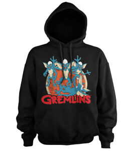 Officially Licensed Gremlins Group Hoodie S-XXL Sizes