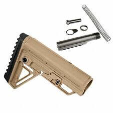 Trinity Force Alpha Stock Kit w/ Rubber Cheek Rest (SAND / TAN) - MIL SPEC