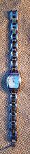 Ladies Stainless Steel FOSSIL ES-9825 Bracelet Quartz Watch 5ATM. Needs Battery