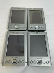 Mixed Lot 4 Dell AximX Pocket PC Powered by Microsoft Windows X30,X3 W Batteries