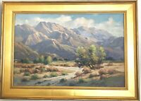Walter Farrington Moses Oil Palm Springs CA Landscape Impressionism Plein Air