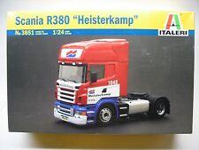 Italeri Scania R380 Heisterkamp truck kit #3851 from 2008