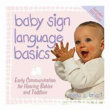 Baby Sign Language Basics (Hay House Lifestyles)-ExLibrary