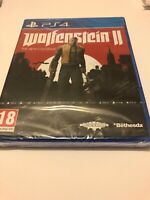 😍 jeu neuf blister playstation 4 ps4 pal fr wolfenstein II 2 the new colossus