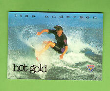 #D208.  1994 AUSTRALIAN SURFING CARD -  HG7  LISA ANDERSEN #0755