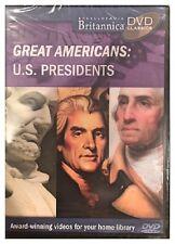 Britannica Great Americans: U.S. Presidents (DVD) Brand New Sealed - Nice