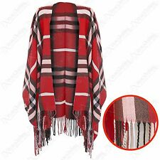 Unbranded Checked Poncho for Women