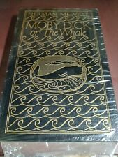 Leatherbound  Moby Dick or The Whale Herman Melville Easton Press NEW SEALED