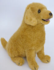 "Rare Dakin Golden Retriever Puppy Dog 11"" Stuffed Plush Animal Brady # 06224"