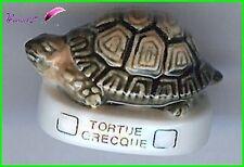 """Feve Les Tortues Turtle Schildkröte Edition Atlas """" La Tortue Grecque """"  #C30"""