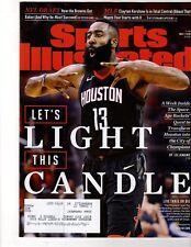 SPORTS ILLUSTRATED - May 7, 2018 - JAMES HARDEN Cover - Rockets, Beard, NBA NFL
