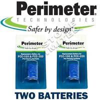 2 Pk Perimeter Replacement Batteries - Fence Collar Battery PTPRB-003 Perimeter