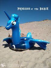 Aufblasbare Pony Prinzessin Luna - Einhorn, Pool, Badeinsel,Luftmatratze