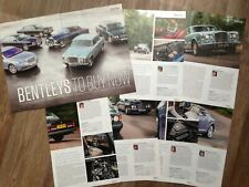 Bentley Flying Spur, T1, Eight, Turbo R, Continental R, Gt - Group Test Article