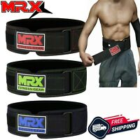 Weight Lifting Belt with Gym Gloves Training Fitness Bodybuilding Workout Set